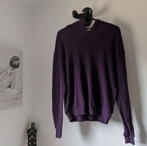 Purple TNA relaxed sweater